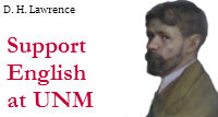 Support English at UNM: D. H. Lawrence