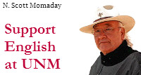 Support English at UNM: N. Scott Momaday