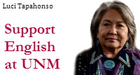 Support English at UNM: Luci Tapahonso