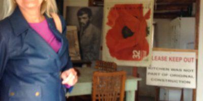 Graduate Stuent and Alumna, Lynn Karaczor at D.H. Lawrence Ranch
